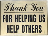 thank you for helping others